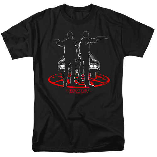 Image for Supernatural T-Shirt - Silhouettes