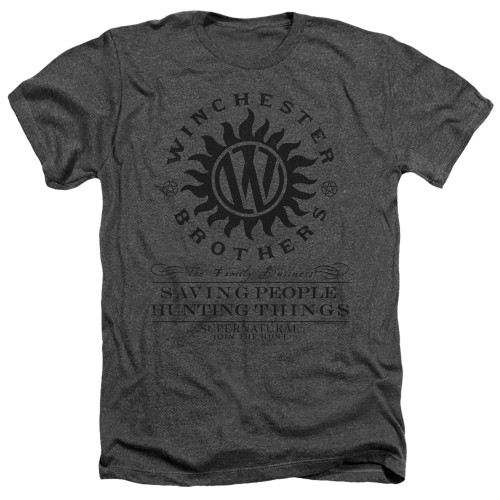 Image for Supernatural Heather T-Shirt - Winchester Anti Possession