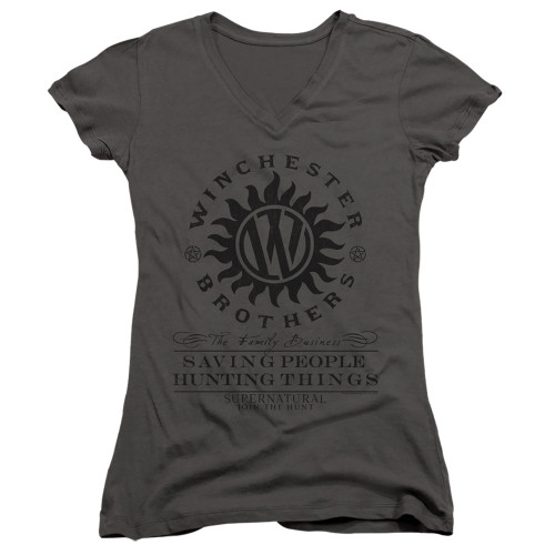 Image for Supernatural Girls V Neck - Winchester Anti Possession