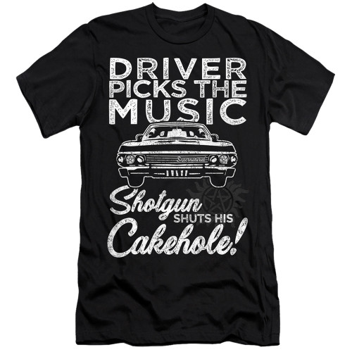 Image for Supernatural Premium Canvas Premium Shirt - Driver Picks Music
