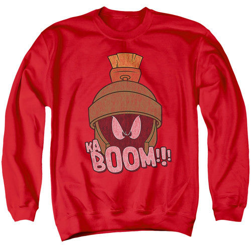 Image for Looney Tunes Crewneck - Marvin the Martain Ka-Boom