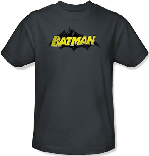 Image Closeup for Batman T-Shirt - Classic Logo