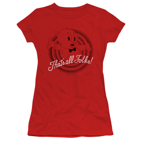 Image for Looney Tunes Girls T-Shirt - That's All Folks
