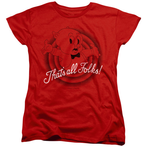 Image for Looney Tunes Woman's T-Shirt - That's All Folks