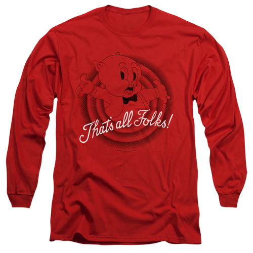 Image for Looney Tunes Long Sleeve T-Shirt - That's All Folks