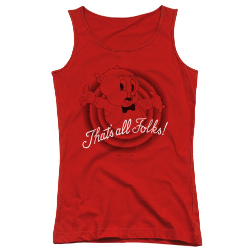 Image for Looney Tunes Girls Tank Top - That's All Folks