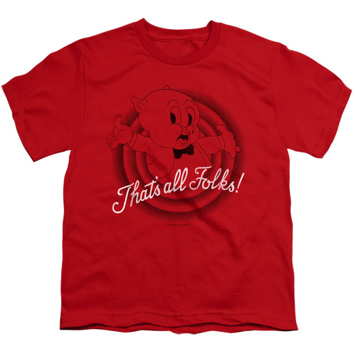 Image for Looney Tunes Youth T-Shirt - That's All Folks