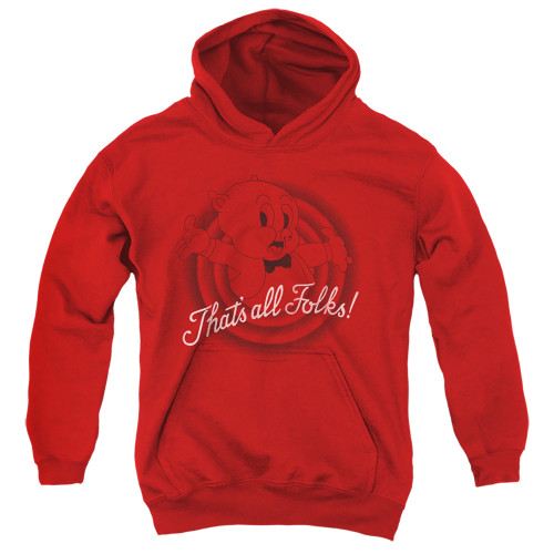 Image for Looney Tunes Youth Hoodie - That's All Folks