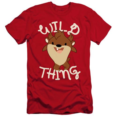 Image for Looney Tunes Premium Canvas Premium Shirt - Tas Wild Thing Kid