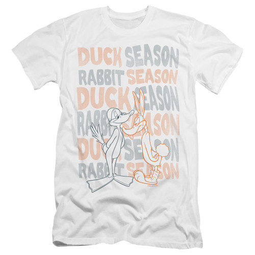 Image for Looney Tunes Premium Canvas Premium Shirt - Duck Season/Rabbit Season