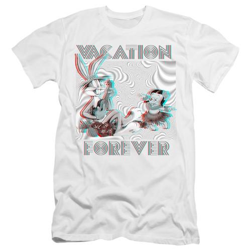Image for Looney Tunes Premium Canvas Premium Shirt - Vacation Forever