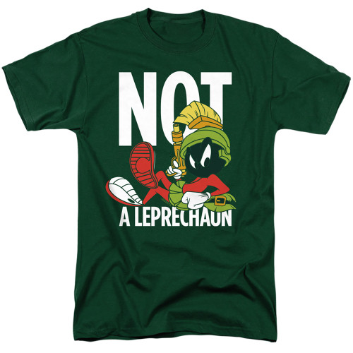 Image for Looney Tunes T-Shirt - Marvin the Martian Not a Leprechaun