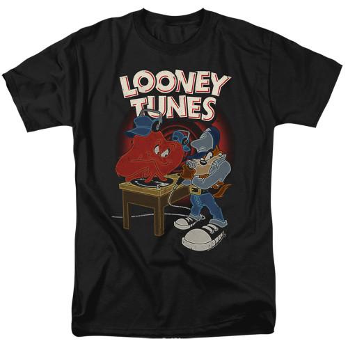 Image for Looney Tunes T-Shirt - Tasmanian Devil DJ Looney