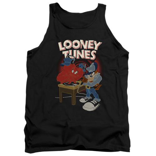 Image for Looney Tunes Tank Top - Tasmanian Devil DJ Looney