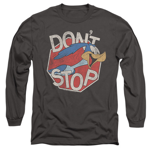 Image for Looney Tunes Long Sleeve T-Shirt - Roadrunner Don't Stop
