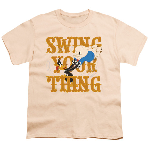 Image for Looney Tunes Youth T-Shirt - Swing Your Thing
