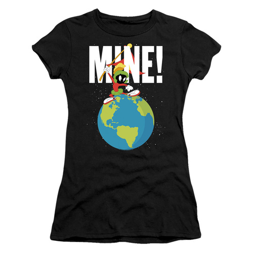 Image for Looney Tunes Girls T-Shirt - Marvin the Martian Mine