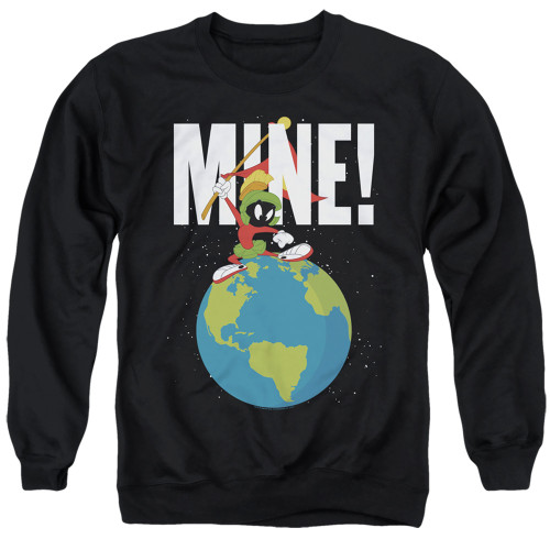 Image for Looney Tunes Crewneck - Marvin the Martian Mine