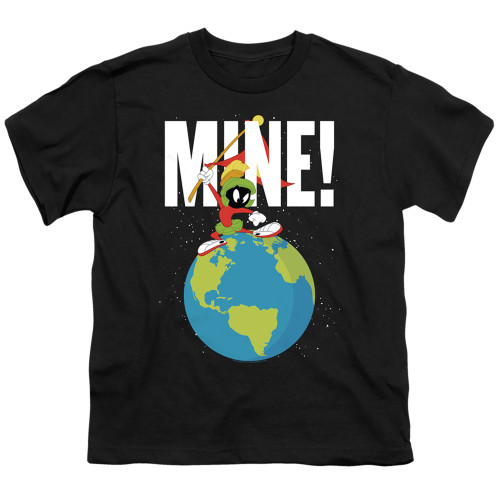 Image for Looney Tunes Youth T-Shirt - Marvin the Martian Mine