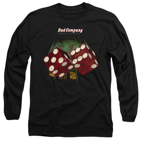 Image for Bad Company Long Sleeve T-Shirt - Winged Straight Shooter