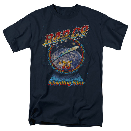 Image for Bad Company T-Shirt - Winged Shooting Star