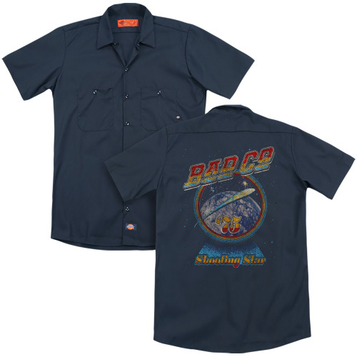 Image for Bad Company Dickies Work Shirt - Winged Shooting Star