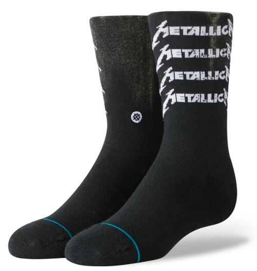 Image for Stance Socks -Metallica Stack Logo
