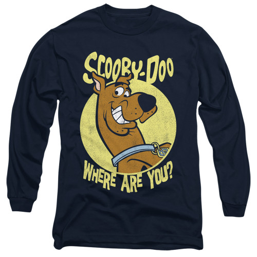 Image for Scooby Doo Long Sleeve T-Shirt - Where Are You?