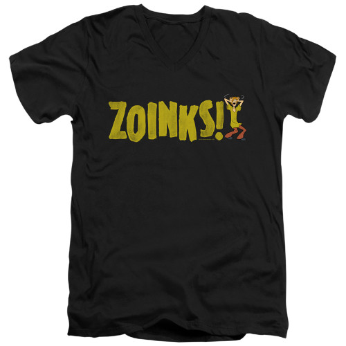 Image for Scooby Doo T-Shirt - V Neck - Zoinks