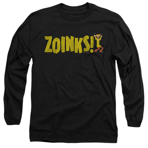 Image for Scooby Doo Long Sleeve T-Shirt - Zoinks