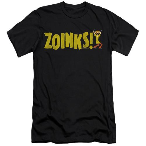 Image for Scooby Doo Premium Canvas Premium Shirt - Zoinks