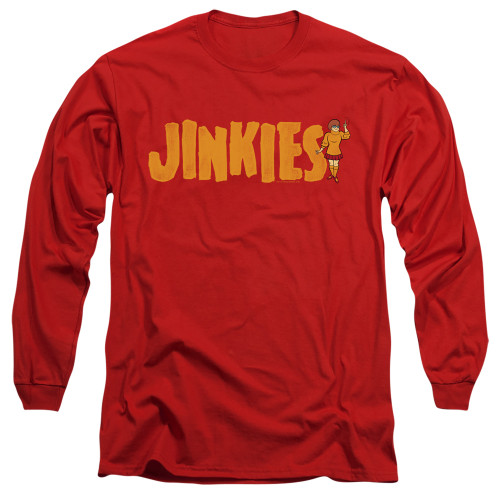 Image for Scooby Doo Long Sleeve T-Shirt - Jinkies