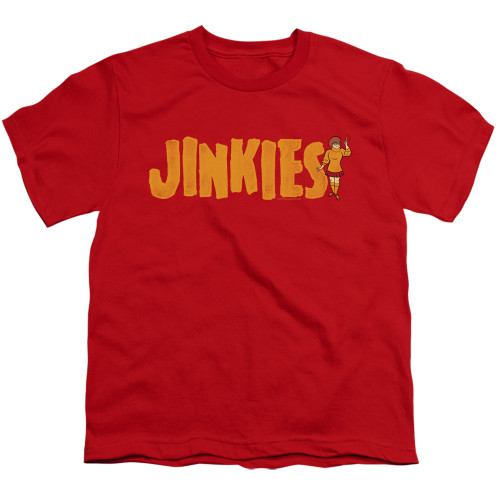 Image for Scooby Doo Youth T-Shirt - Jinkies