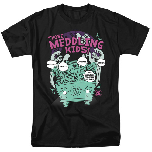 Image for Scooby Doo T-Shirt - Meddling Since 1969