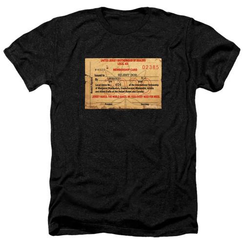 Image for Jay & Silent Bob Reboot Heather T-Shirt - Dealer Card