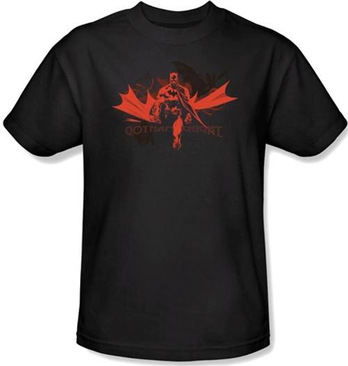 Image Closeup for Batman T-Shirt - Gotham Knight