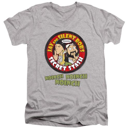 Image for Jay & Silent Bob Reboot V Neck T-Shirt - Shhhhh