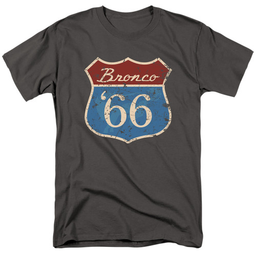 Image for Ford T-Shirt - Route 66 Bronco