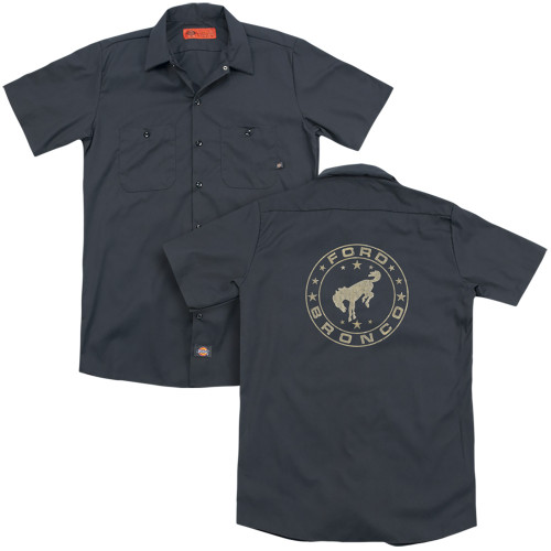 Image for Ford Dickies Work Shirt - Vintage Star Bronco