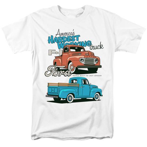 Image for Ford T-Shirt - Hardest Working Trucks