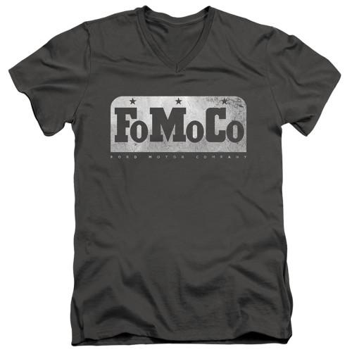 Image for Ford V Neck T-Shirt - FoMoCo