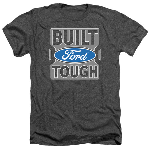 Image for Ford Heather T-Shirt - Built Ford Tough