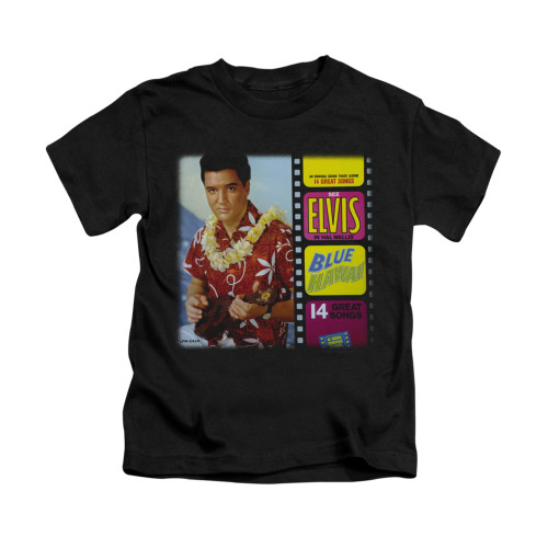 Image for Elvis Kids T-Shirt - Blue Hawaii Album