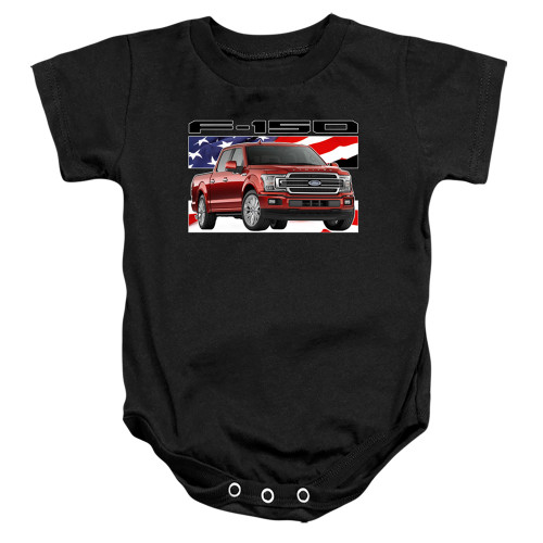 Image for Ford Baby Creeper - F150 Flag