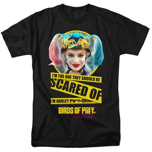 Image for Birds of Prey T-Shirt - I'm the One You Should Be Scared Of