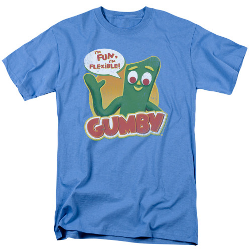 Image for Gumby T-Shirt - Fun & Flexible