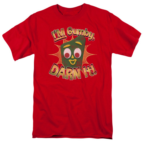 Image for Gumby T-Shirt - Darn It