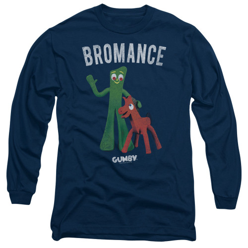 Image for Gumby Long Sleeve T-Shirt - Bromance