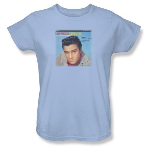 Image for Elvis Woman's T-Shirt - Loving You Soundtrack