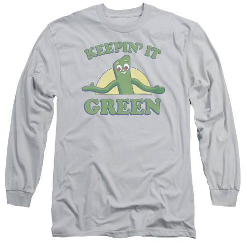 Image for Gumby Long Sleeve T-Shirt - Keepin' It Green